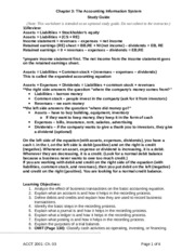 Acct Chapter 3 Study Guide