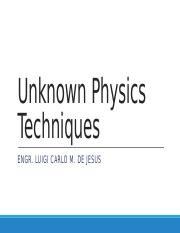 299550457-Unknown-Physics-Techniques.pdf