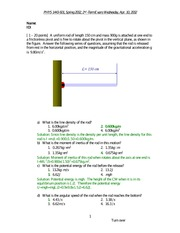 phys1443-spring02-2nd-term-exam-solutions