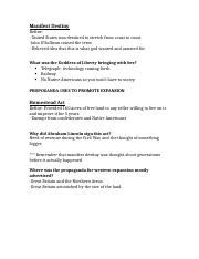 Western Expansion Handout- ANSWERS