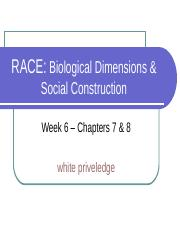 6. Race-Biology and Social Constuct.ppt