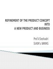3. Refinement from product concept to new product.pptx