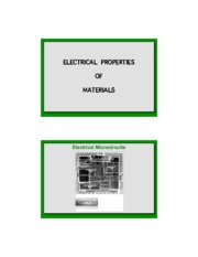 11-Electrical Properties