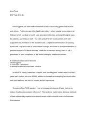 C361 Task 2 Instruction Help docx - C361 Task 2 A Talking