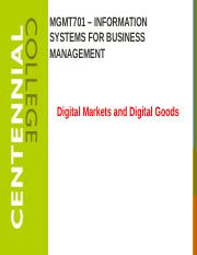 Class 9   E-Commerce - Digital Markets and Digital Goods F16.pptx