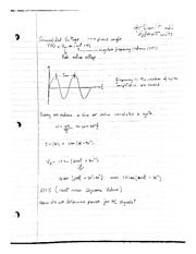 Sinusoidal Voltages, Complex Numbers