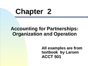 Chapter 2 accounting for partnerships_2