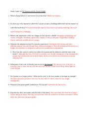 Study Guide for Sir Gawain and the Green Knight.docx