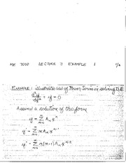 ME 7000 Lecture 3 example problems