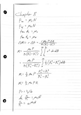 Statics Chapter 8 Notes Friction