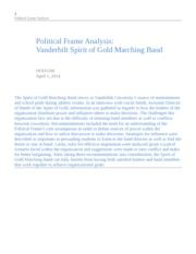 HOD1200 Political Frame Analysis