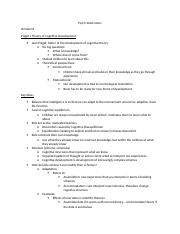 Psych 2AA3 notes.doc