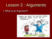 Lesson_3_What_is_An_Argument
