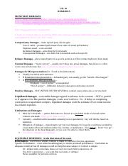 Ch 18 Notes - Remedies (1).docx