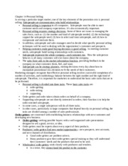 BUSI 406 Chapter 14 Lecture Notes