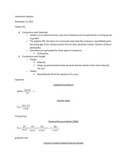 MBA 539 11_11_2013 Lecture Notes (B)