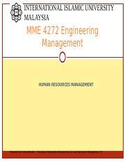 6 2014  HUMAN RESOURCES MGT (HRM) Part 1.ppt