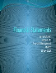 8 EFM_MSREE_lec8_Financial stat_2014