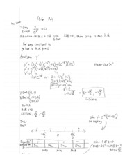 Calculus1 Notes 12 Derivative Test