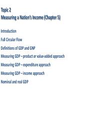 Topic 2 Measuring a Nation's Income Full.pdf