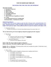 AP Statistics – Test of Significance Template.docx