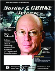 Border and CBRNE Defense_Border Surveillance Technology_Greg Catherine 030113