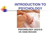 moodlenotes lecture1 INTRODUCTION TO PSYCHOLOGY1