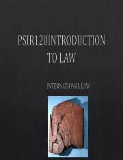 The Nature and Function of International Law