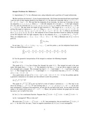 Sample Problems for Midterm 1 - SOL