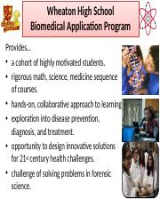 wheaton application programs