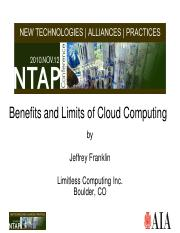 Benefits and Limits of Cloud Computing.pdf