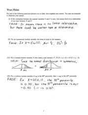 Sample-Exam-II-Solutions