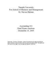 2005 Fall Accounting_011_Fall_2005___final_exam___answers
