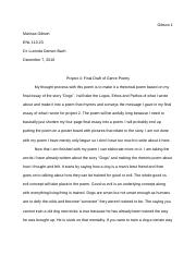 Final Draft of paper