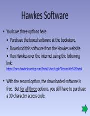 (2) The Hawkes Software(1) (1).pptx