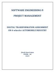 Jitesh_Sawrirajan SEPM_Assignment Digital_Transformation.docx
