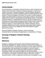 Feminist Theology Research Paper Starter - eNotes.pdf