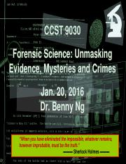 1 History and Development of Forensic Science-Jan 20 2016 Lecture Students.pdf