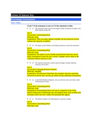 Answer+Key-4 - Lesson 7 Answer Key Knowledge Assessment ...