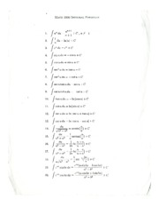 Integral and LaPlace Formulas