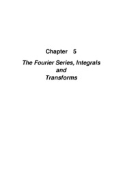 Ch_05 - Fourier Series - Summary