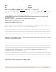 Lab 3 Isopod Natural Selection worksheet