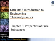 2) Chapter 3 Properties of pure substance