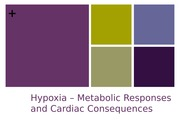 Hypoxia and Its responses CH