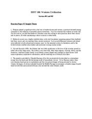 Reaction paper at world trade sample