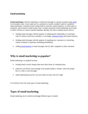 Why is email marketing so popular