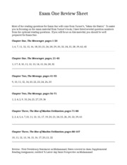 357 Exam One Review Sheet[1]
