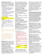 FIN 302- Final Cheat Sheet (Madalyn)