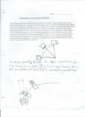 Centripetal Force Conect Questions