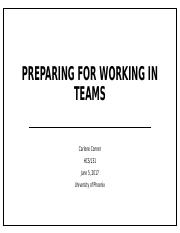 Preparing for working in teams.pptx